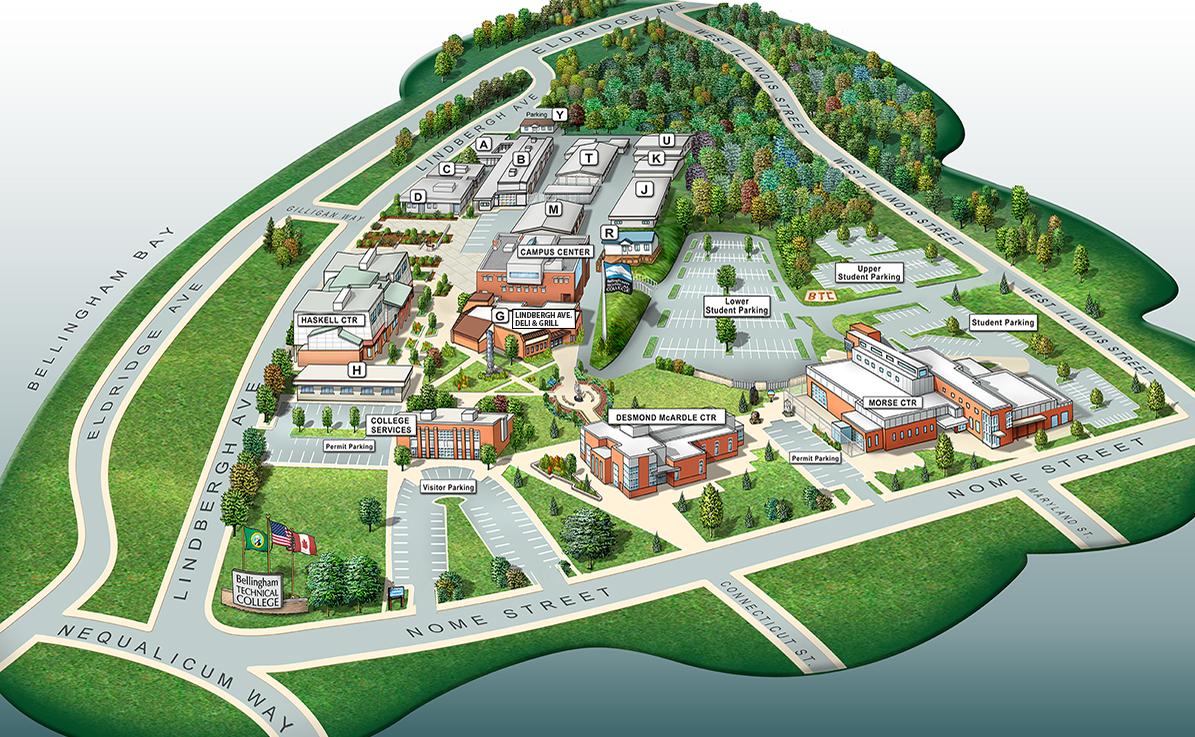 Campus Map | School Demo